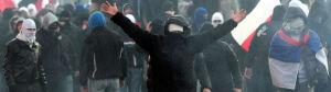 Policja chce pokazać zdjęcia uczestników zamieszek