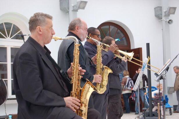 Koncert podczas otwarcie Fortu sokolnickiego - fot. Piotr Bakalarski/tvnwarszawa.pl