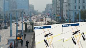 """Będą """"zebry"""" przy Centralnym. Cztery firmy chcą ucywilizować skrzyżowanie"""
