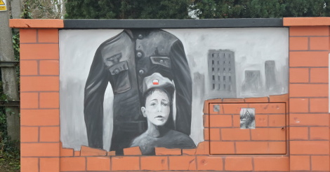 O nierzy ss przykryli dzieckiem nowy mural i zn w for Mural ursynow