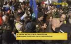 Na Krakowskim Przedmieściu byli kontrmanifestanci