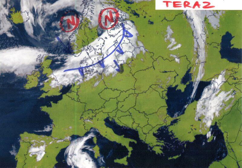 Zdjęcie satelitarne Europy