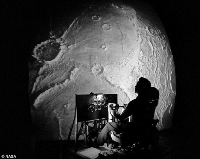 LOLA był stworzonym przez NASA symulatorem powierzchni Księżyca (NASA/Langley Research Center)
