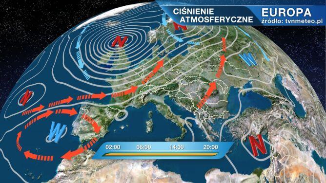 Pogodą w Polsce rządzi niż Stefan