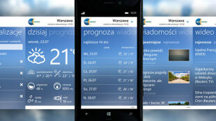 Aplikacja TVN Meteo na Windows Phone. Pogoda, wideo, newsy w Twoim telefonie