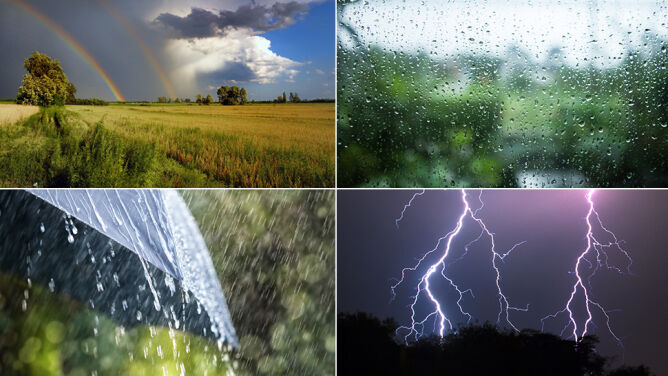 Prognoza pogody na pięć dni: coraz cieplej, ale mokro i burzowo