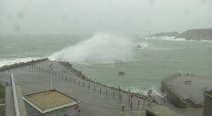 Silny wiatr wiał we Francji